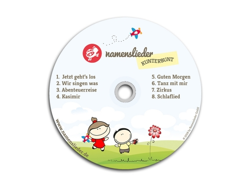 Namenslieder CD KUNTERBUNT
